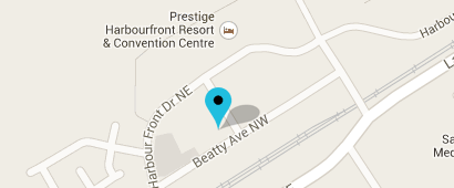 Map to Harbourfront Family Chiropractic